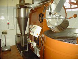 Kaffeeröstung bei Martella (Foto)