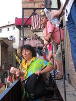Palio Siena Zuschauer