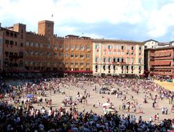 Palio Siena Platz