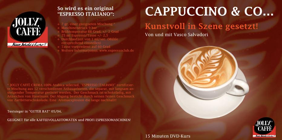 Jolly Kaffee produziert Latte Art DVD