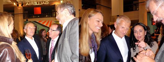 Andrea Illy und Wolfgang Krah von illy Caffe, Hüsniye Tanriver und Fam. Duhre von Espresso International