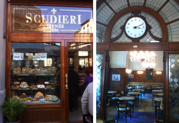 Cafe Scudieri in Florenz