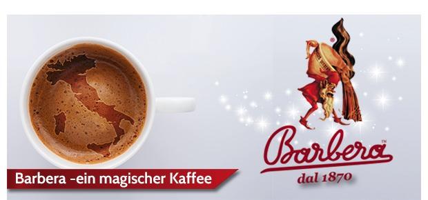 Barbera ein magischer Kaffee