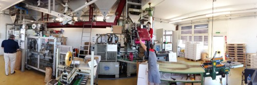 Verpackungsmaschine Blasercafe