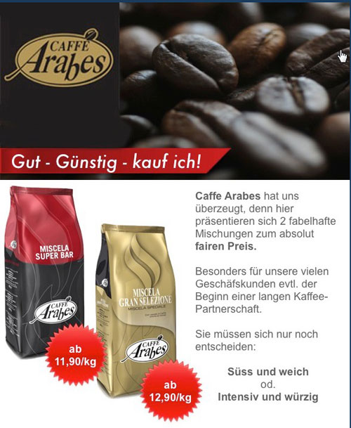 Neues aus der Kaffeewelt - Kaffee-Arabes