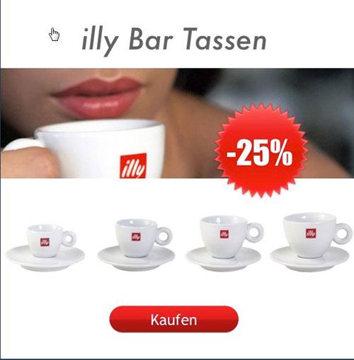 illy Espressotassen