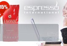 Nannini Espresso Kaffee günstig kaufen bei Espresso International Rabatt Discount