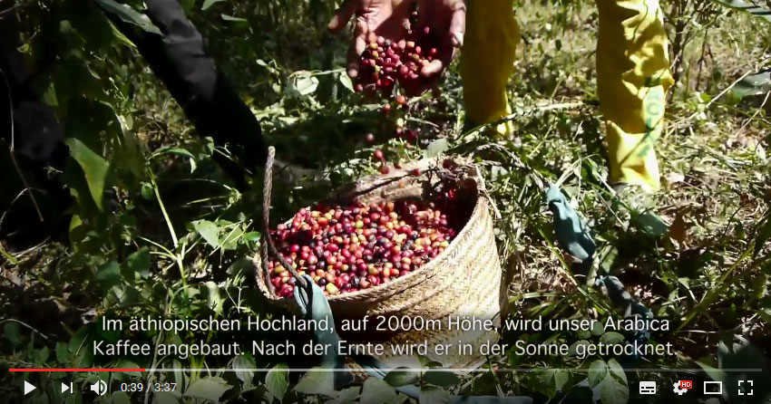 Solino Äthiopischer Hochland Kaffee