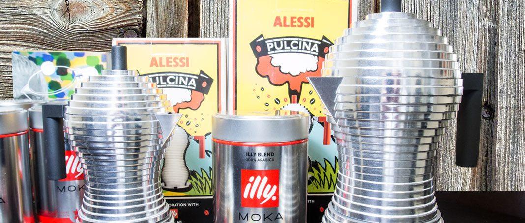 Alessi Pulcina Espressokanne