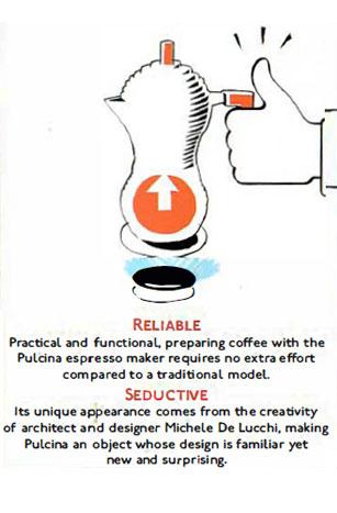 zuverlässiger Espressokocher Pulcina