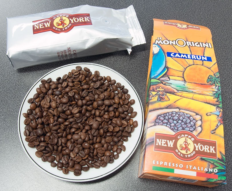 New York Camerun Bohnenbild